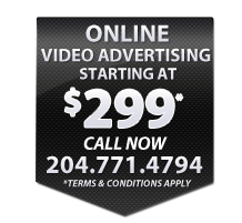 Online Video advertising winnipeg